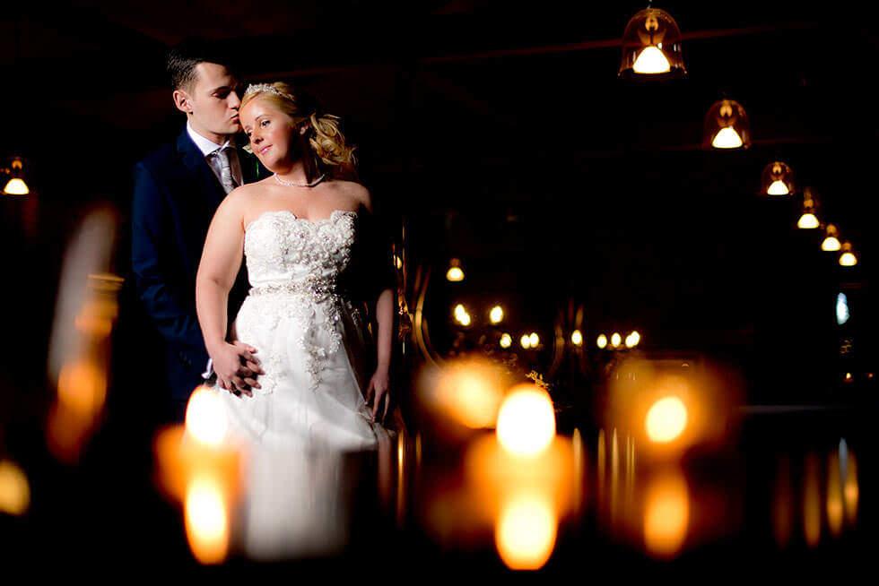 Lauren & Curt's Wedding at The Carriage Hall, Plumbtree