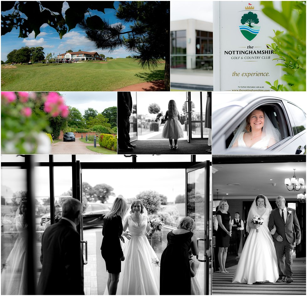 Nottinghamshire Golf Club Wedding 003