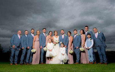 An Autumn Greasley Church & Swancar Farm Wedding in Nottingham