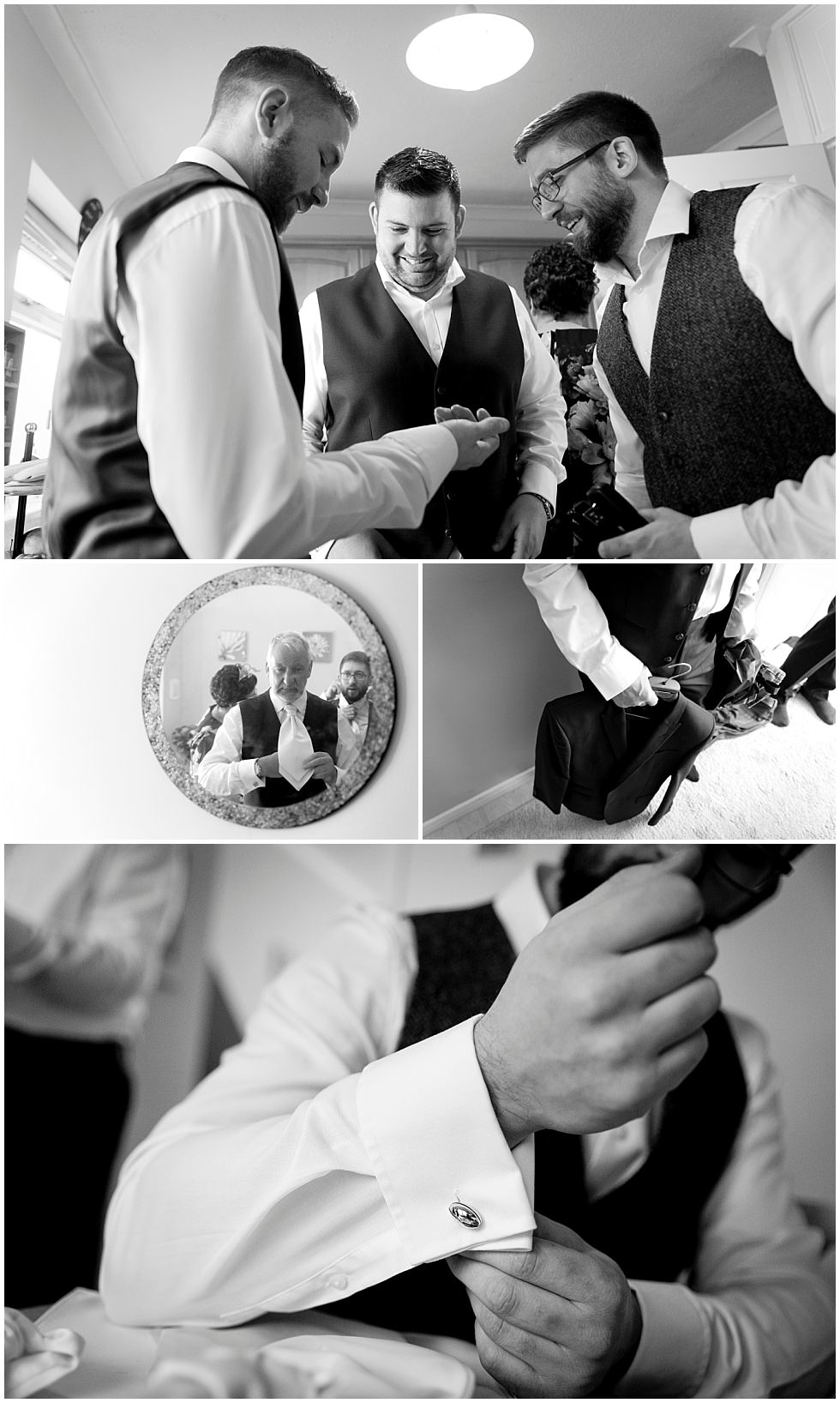 Groom preperation