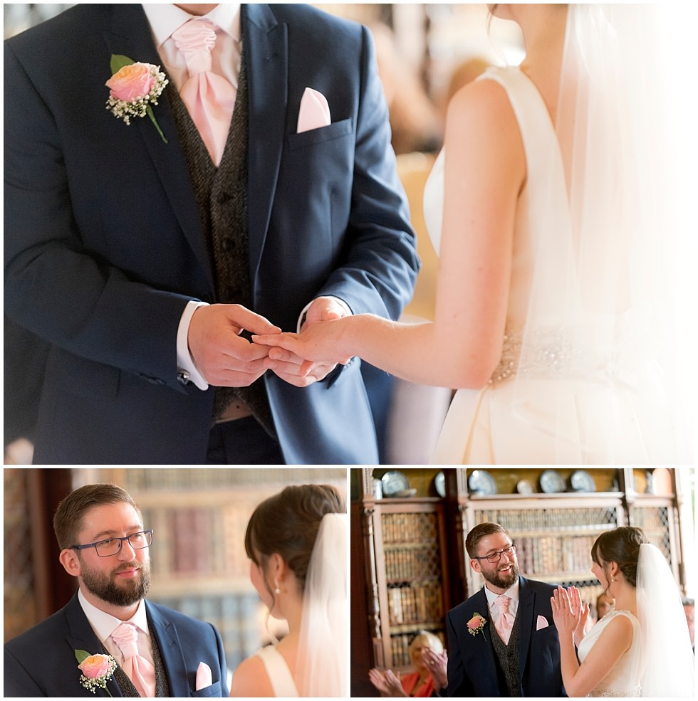 Prestwold Hall Wedding ceremony
