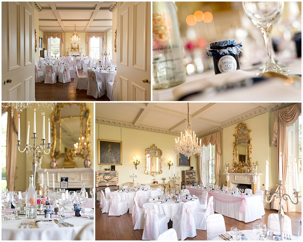 Prestwold Hall Wedding venue internals