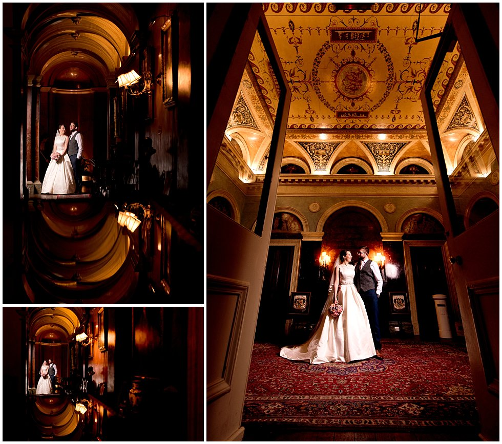 Creative Prestwold Hall Wedding Photography