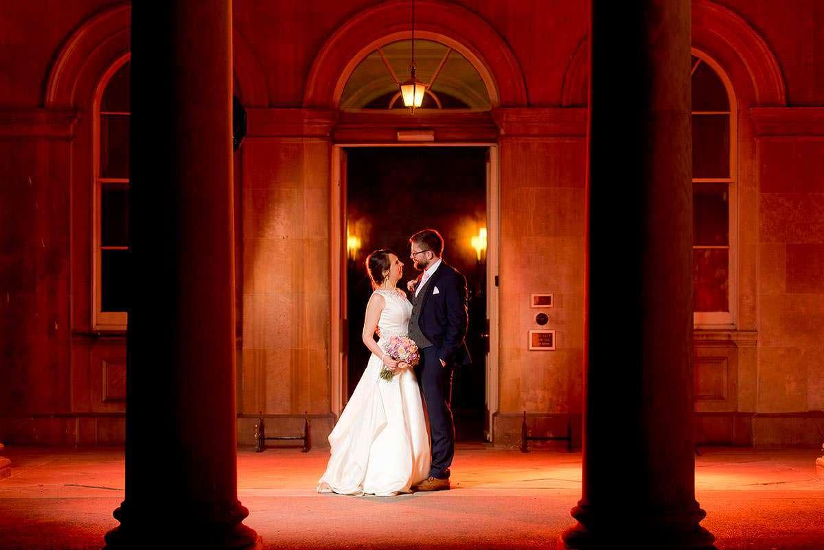 Wedding Photographer Nottingham Prestwold hall Portrait