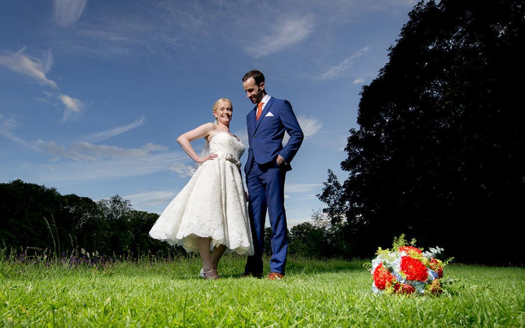 Anna & Stuart's Awesome Colwick Hall Wedding