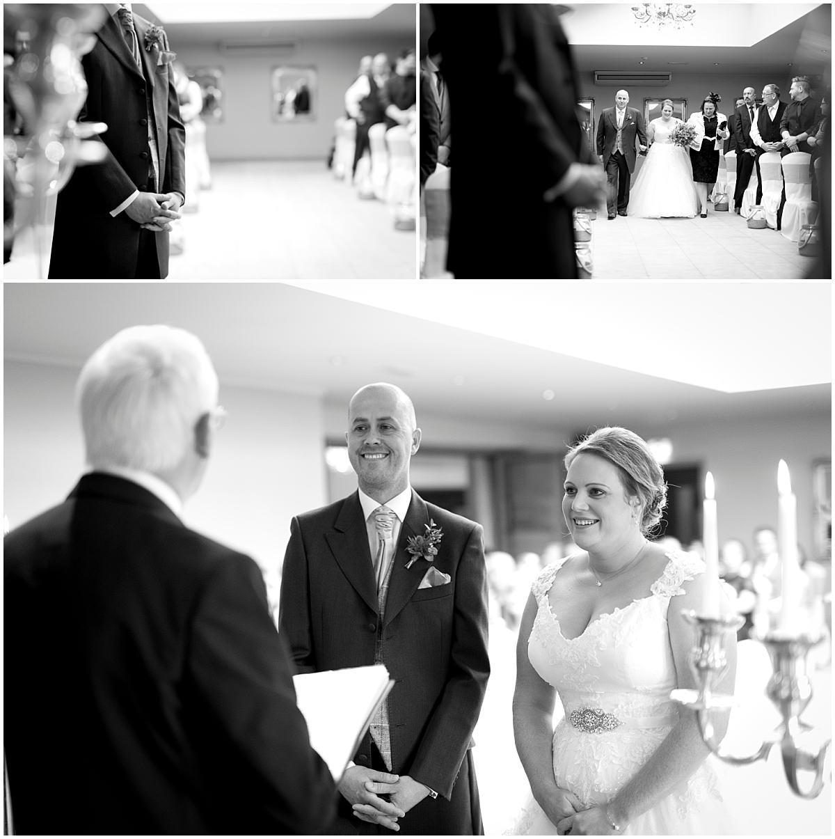 Peak Edge Hotel wedding ceremony