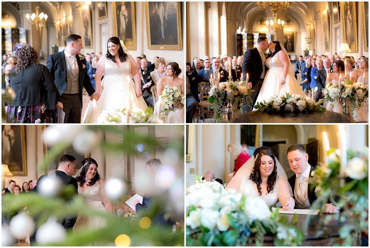 Belvoir Castle Wedding ceremony
