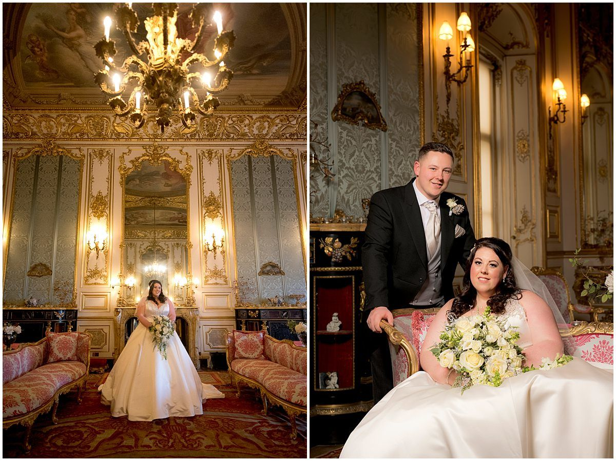 Belvoir Castle Wedding Elizabethan suite
