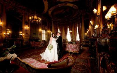 A Winter Belvoir Castle Wedding with Kelly & Kyle
