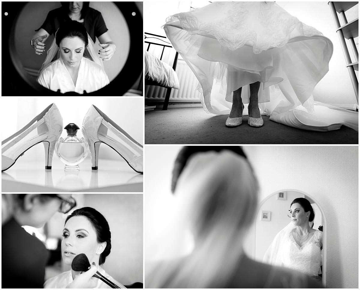 Bridal preparations refelctions