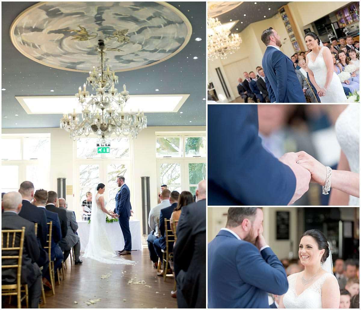 Shottle Hall Wedding Ceremony