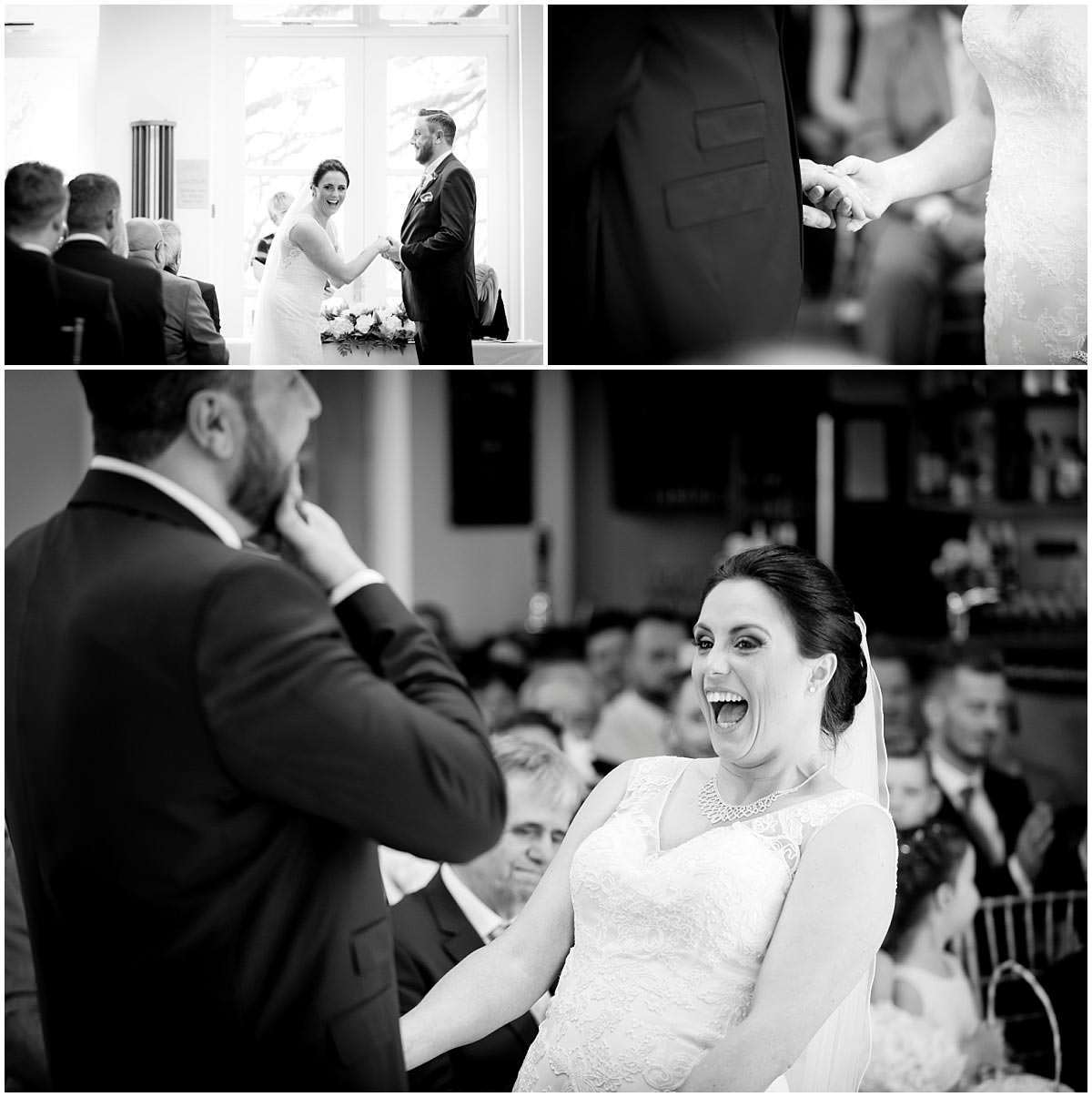 Ceremony laughter