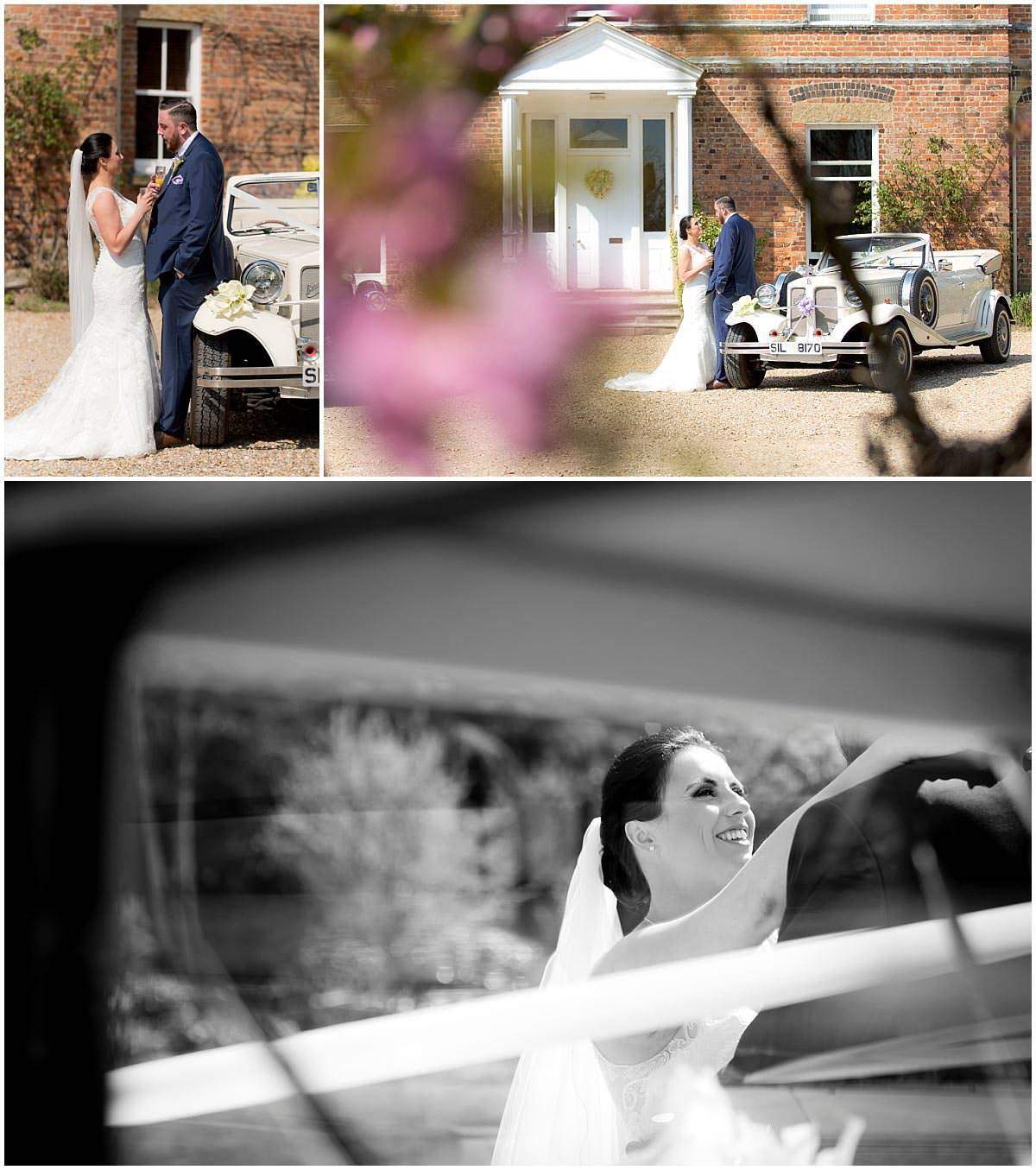 Shottle Hall bride and groom Photography