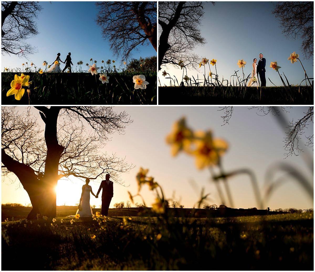 Shottle Hall Wedding Photography Daffodils