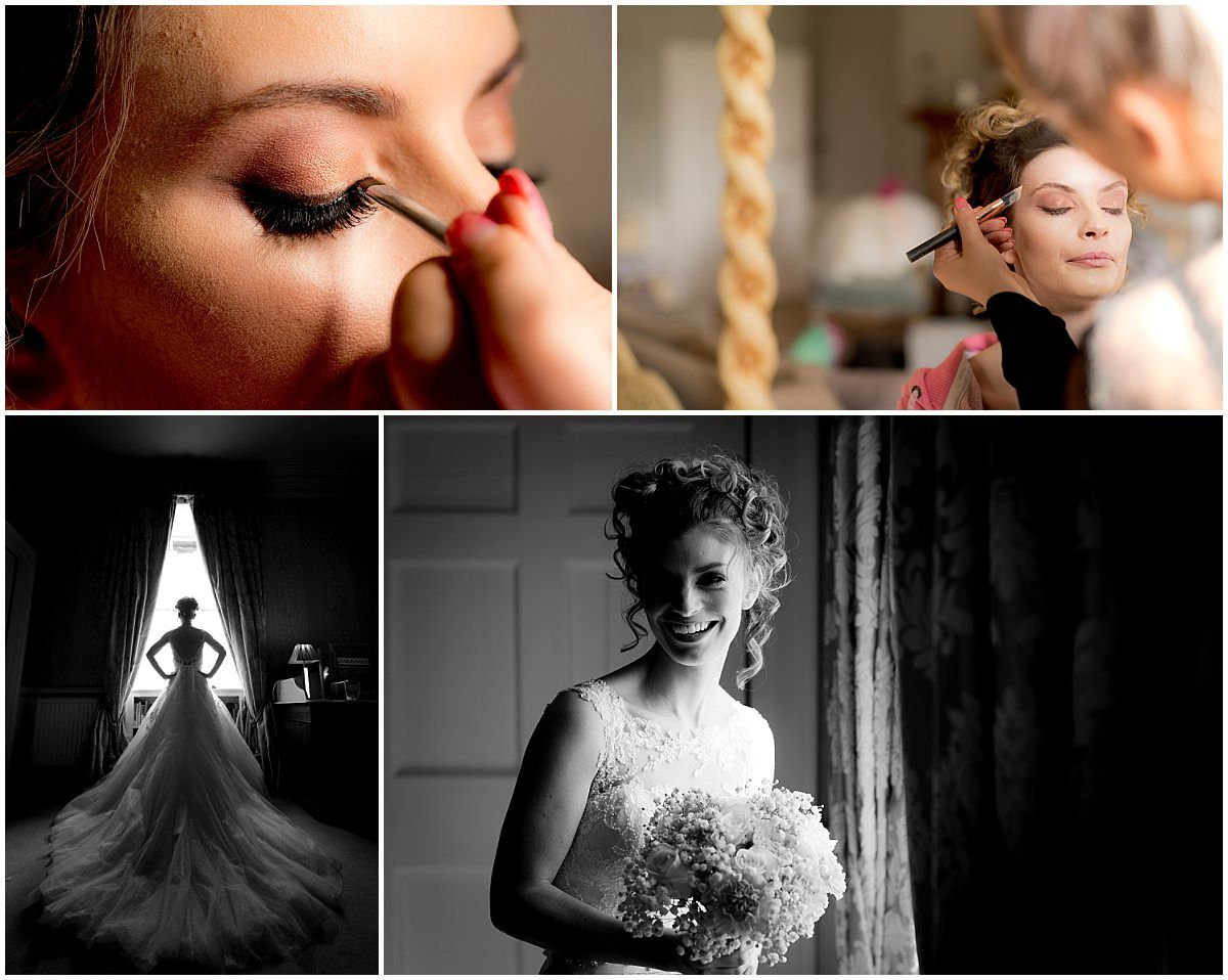 Bridal preparations at Norwood Park