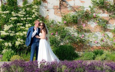 An Outdoor Wedding at The Walled Gardens with James & Claire