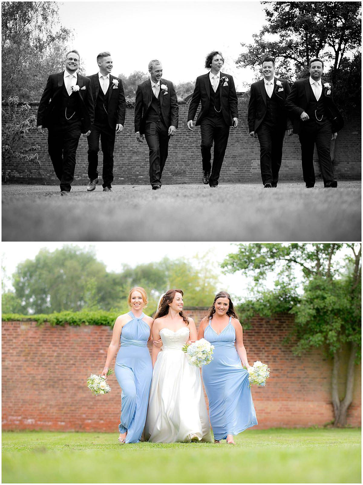 Bridesmaids and grooms-men