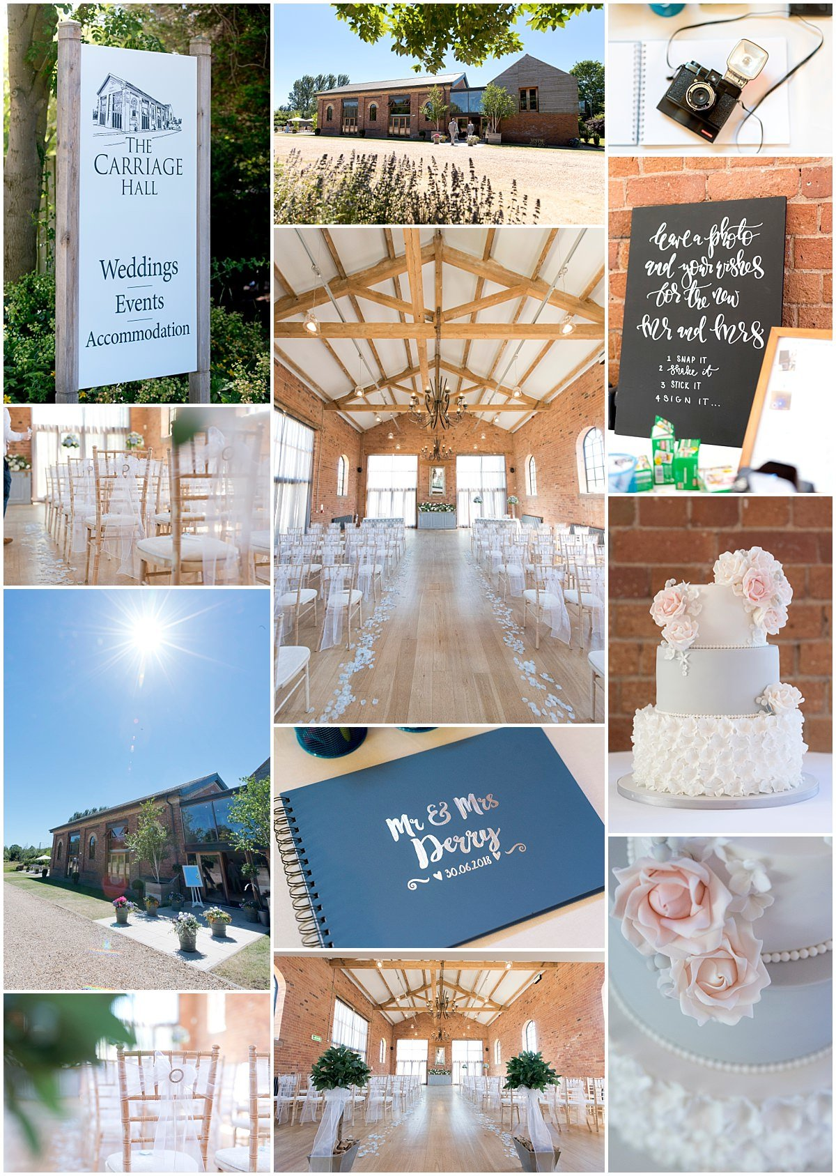 Summer Wedding at The Carriage Hall
