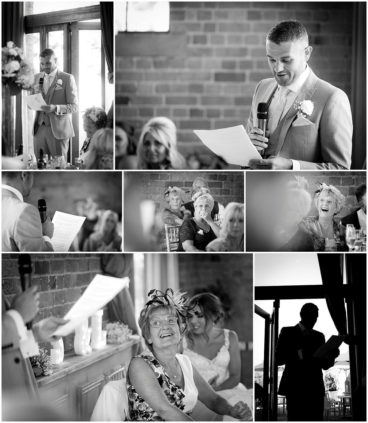 Speeches in black and white