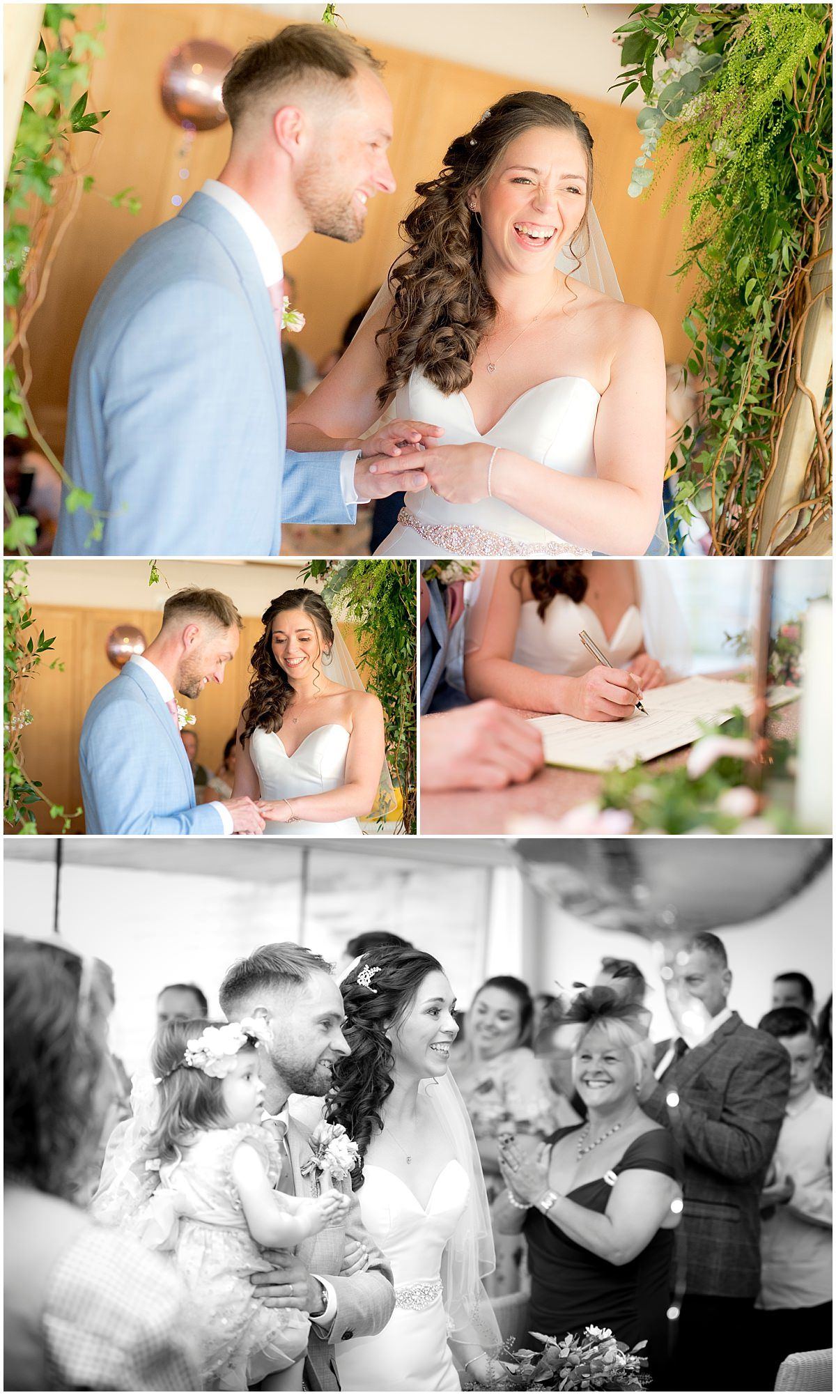 Twycross Zoo Wedding ceremony