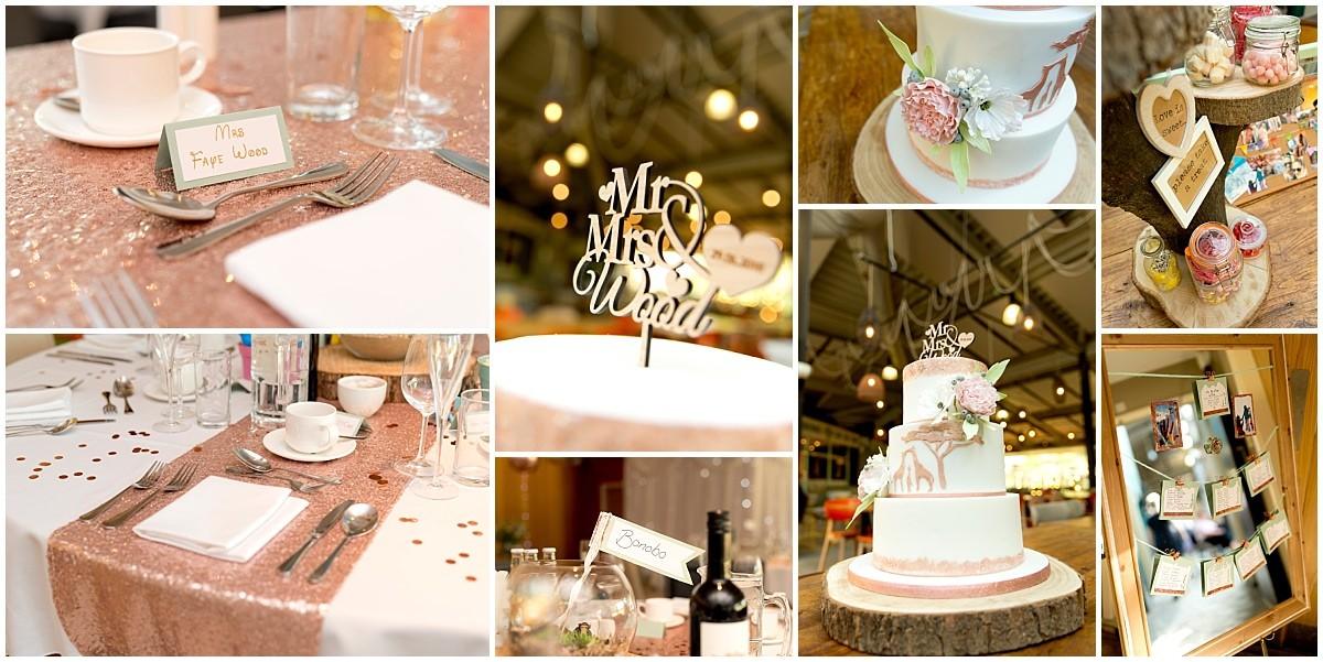Twycross Zoo Wedding details
