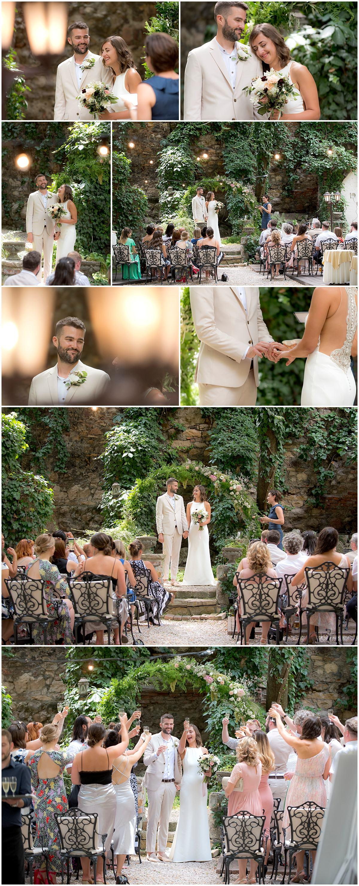 Budapest Wedding ceremony