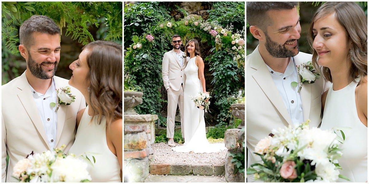 Budapest Wedding bride and groom