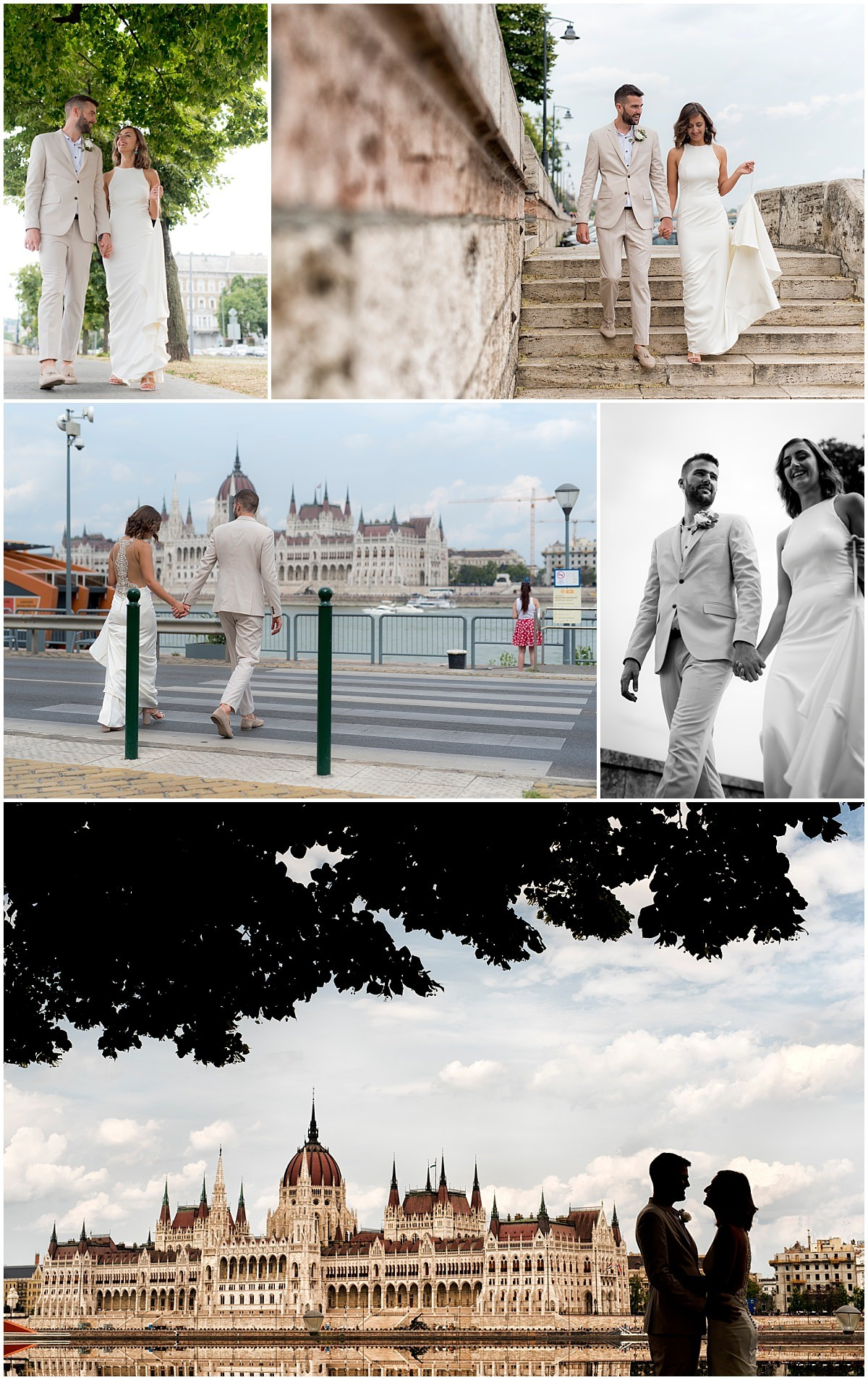 Budapest Wedding Photography silhouette