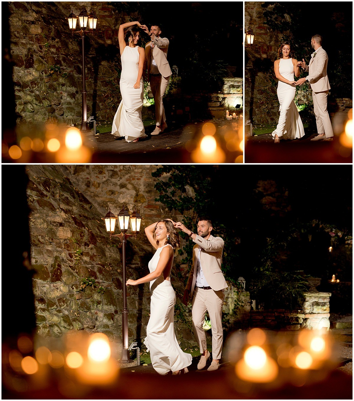 First dance at night