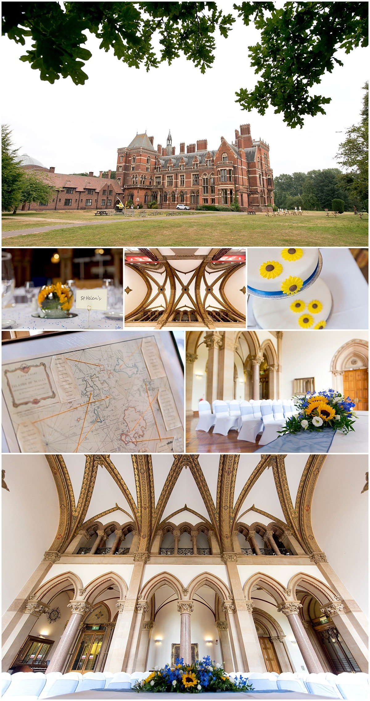 Kelham Hall Wedding Venue externals