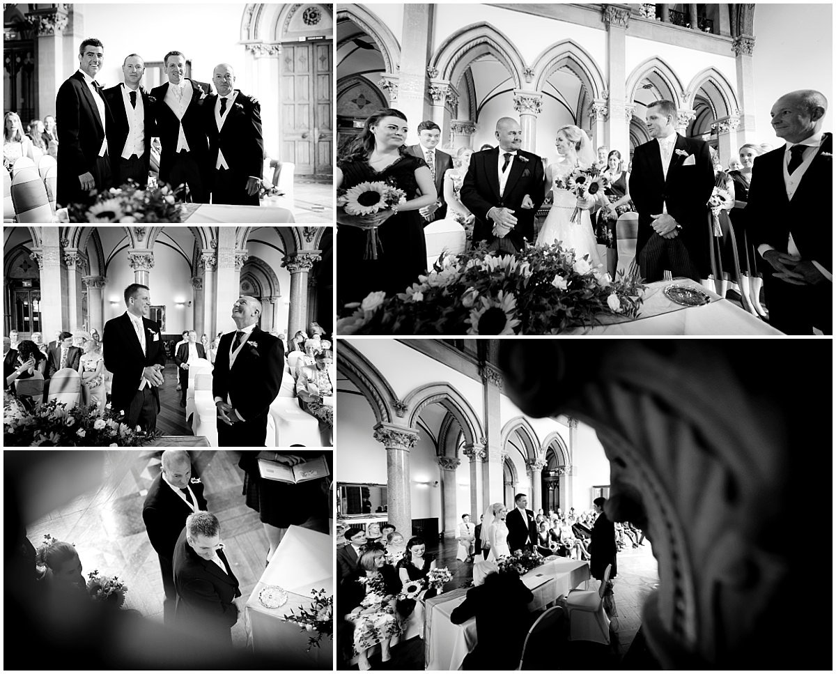 Mono ceremony at Kelham Hall