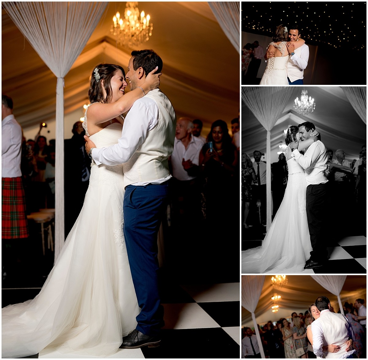 Thrumpton Hall Wedding Photography Dancefloor
