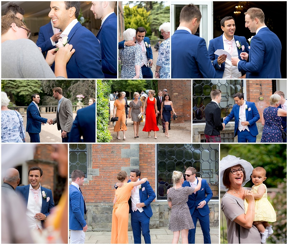 Thrumpton Hall Wedding guests