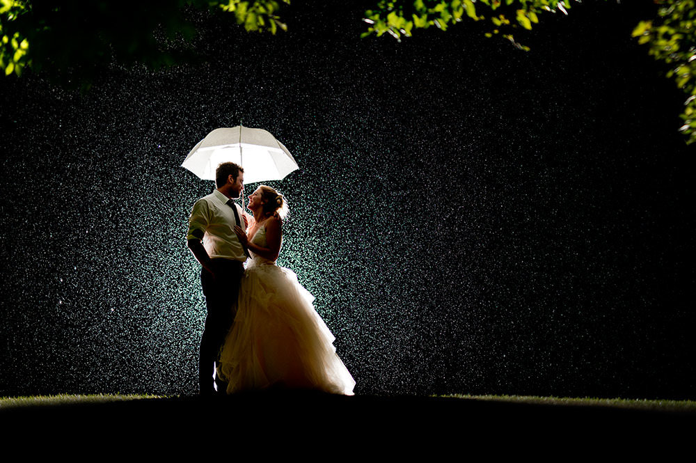 Wedding Photography in Nottingham Night shot