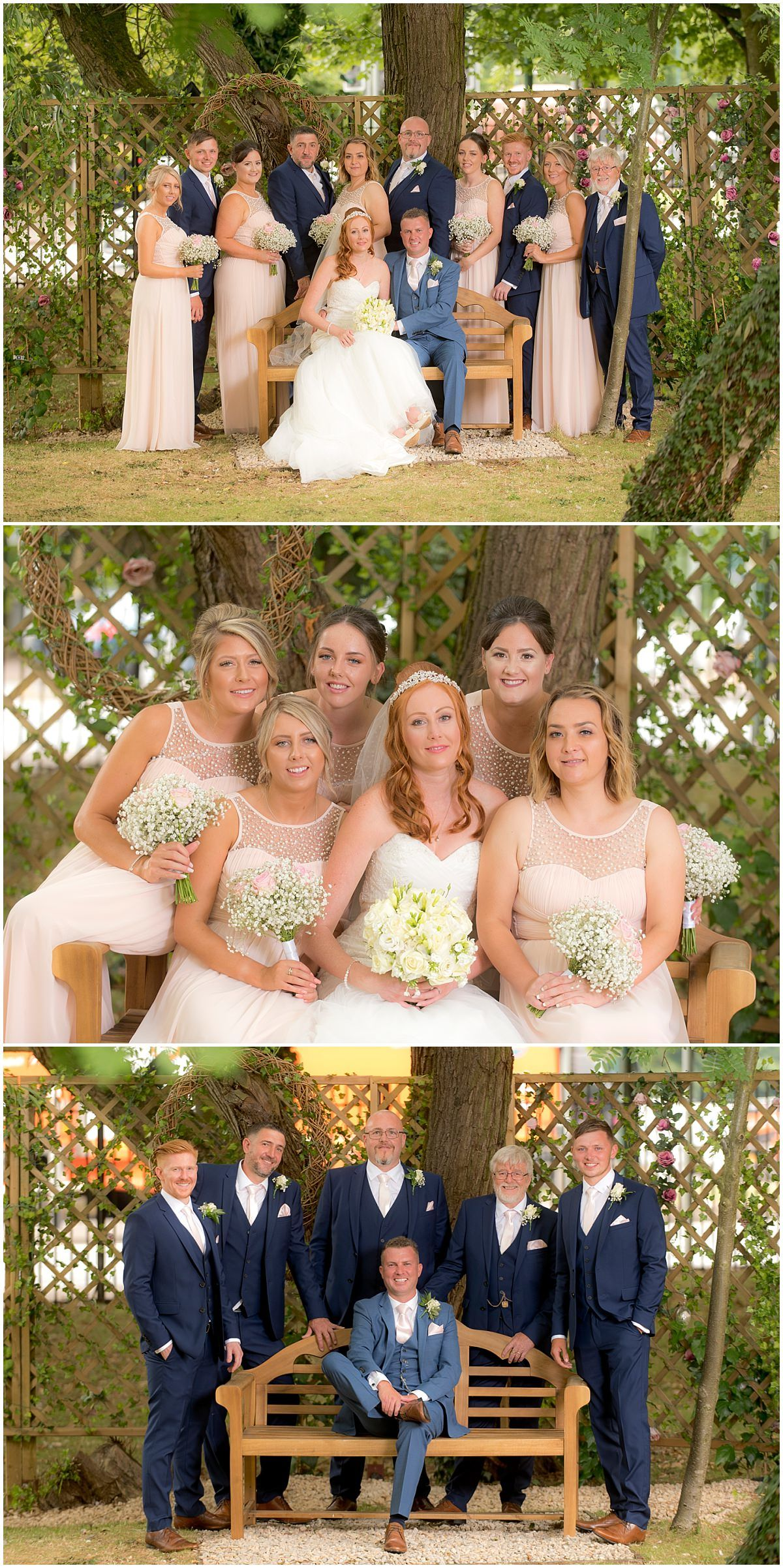 Bridesmaids portraits