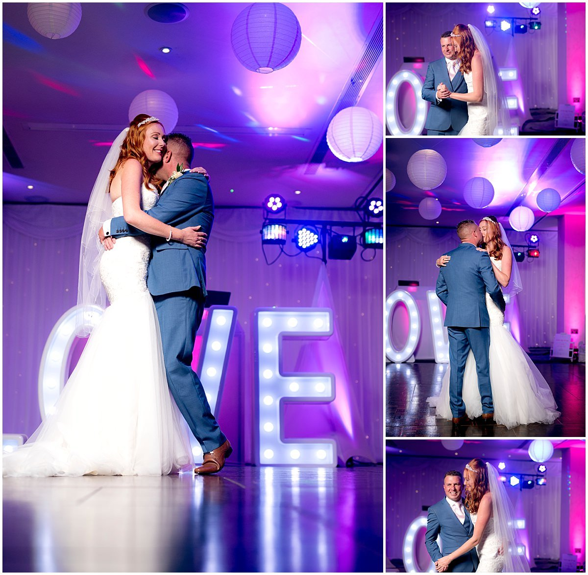 First dance at Double tree Nottingham