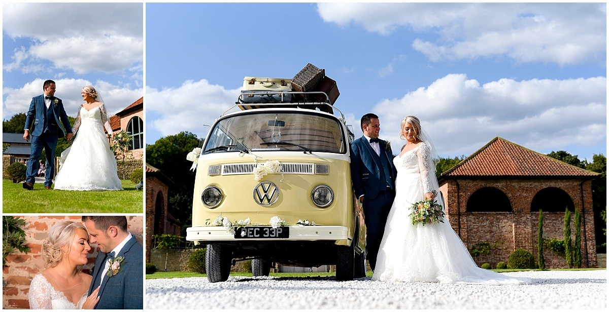 Wedding car at Hazel Gap Barn 13