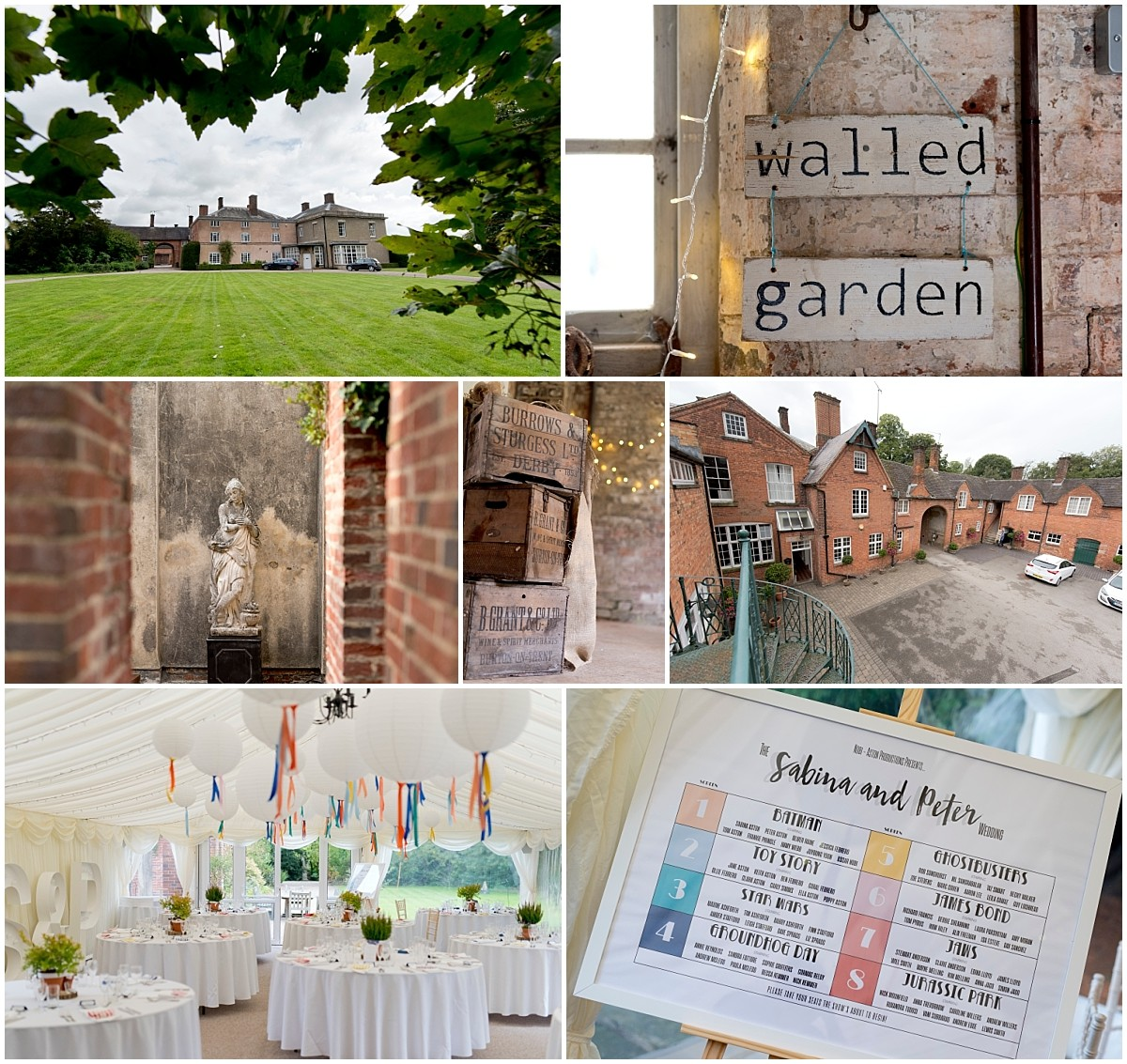 Yeldersley Hall Wedding details