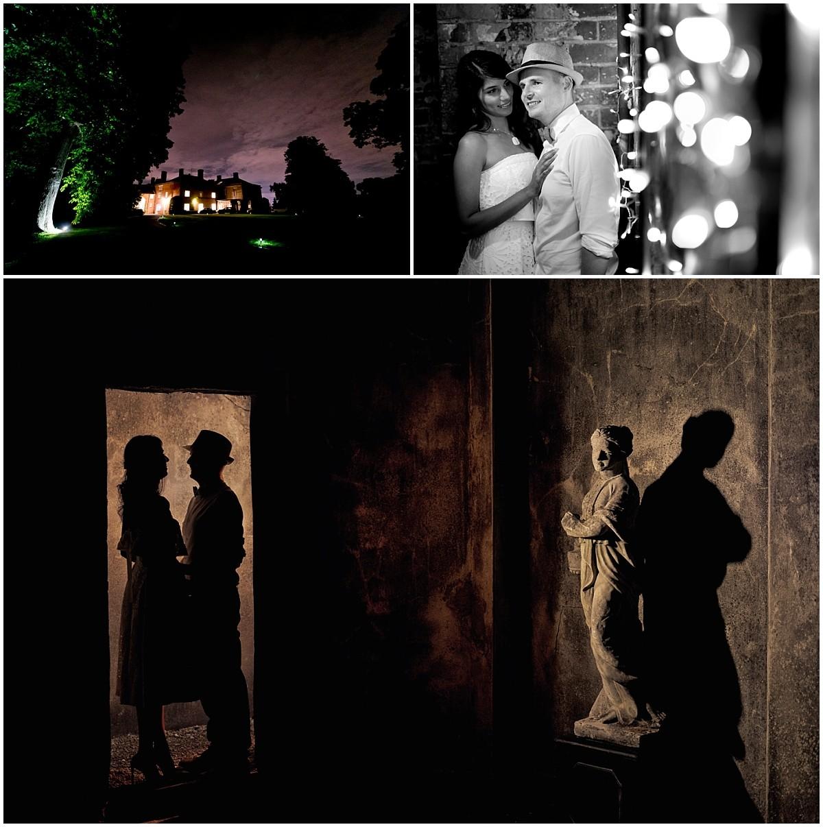 Yeldersley Hall Wedding night shots