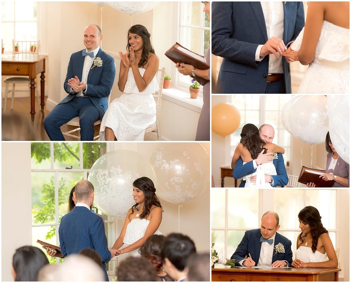 Yeldersley Hall Wedding ceremony