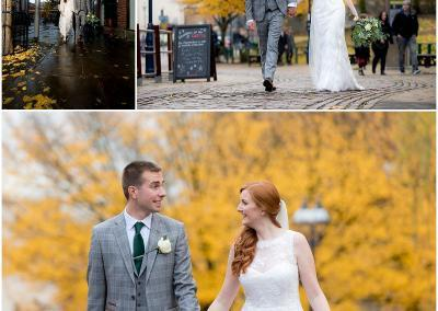 Nottingham bride and groom portraits