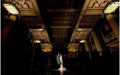An elegant winter wedding at Nottingham's Council House