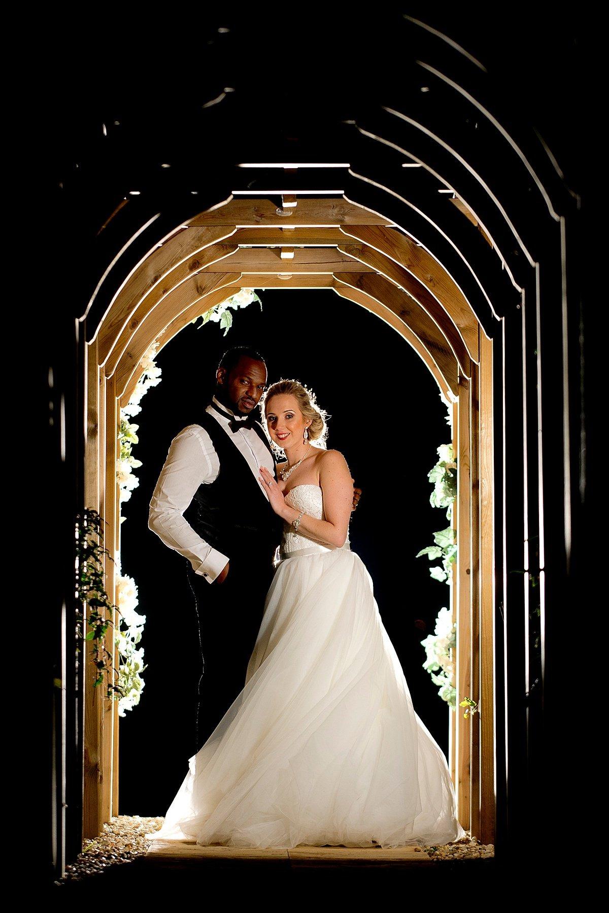 Swancar Farm Bride and groom portrait