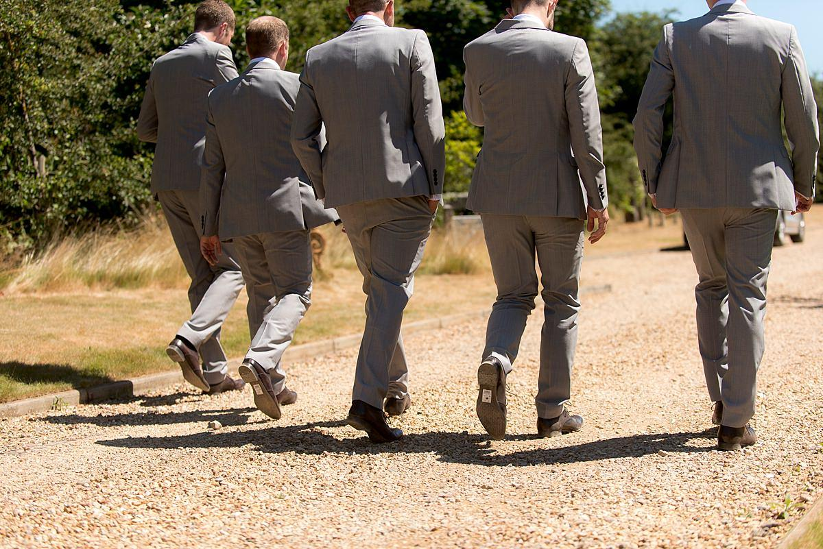 The Carriage Hall Groomsmen