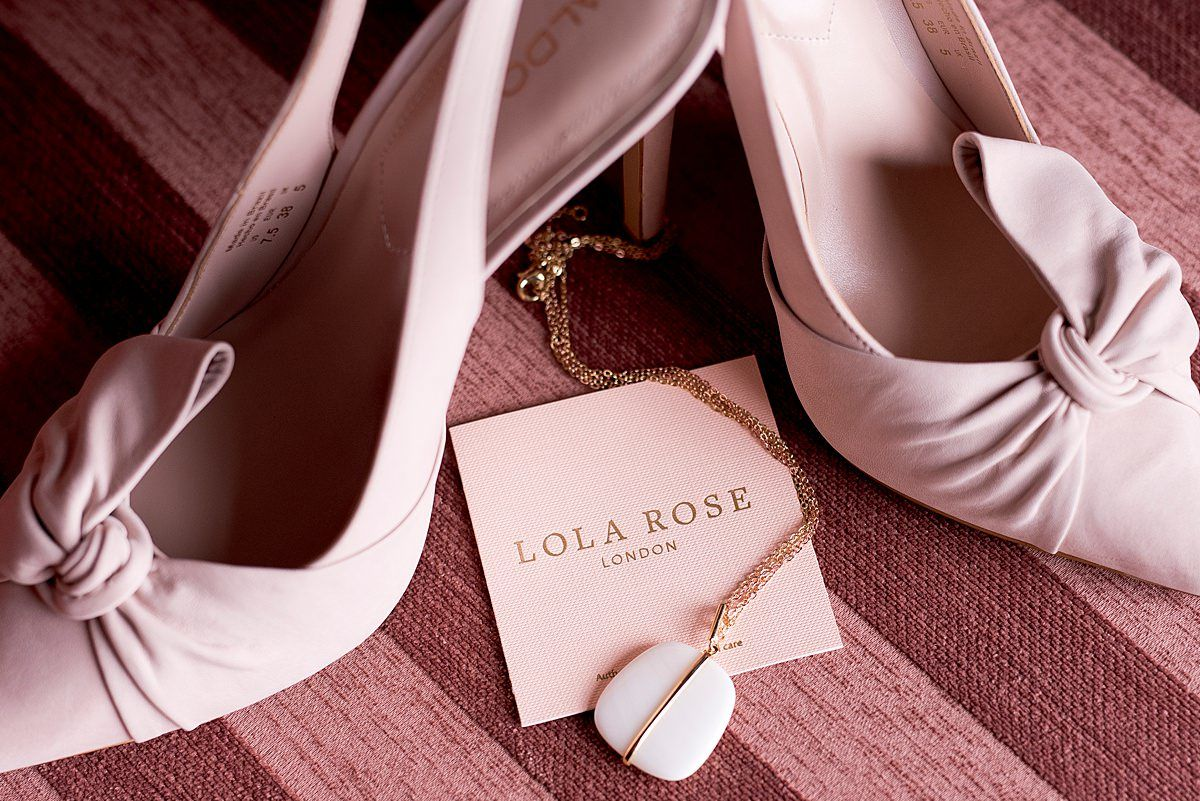 wedding shoes and details