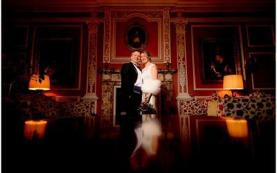 A murder mystery wedding at Thrumpton Hall