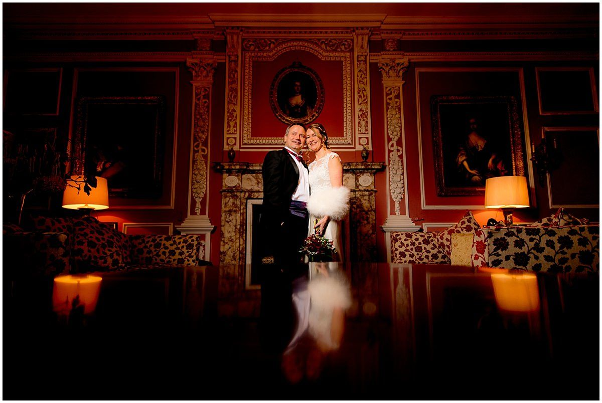 Bride and Groom Wedding at Thrumpton Hall