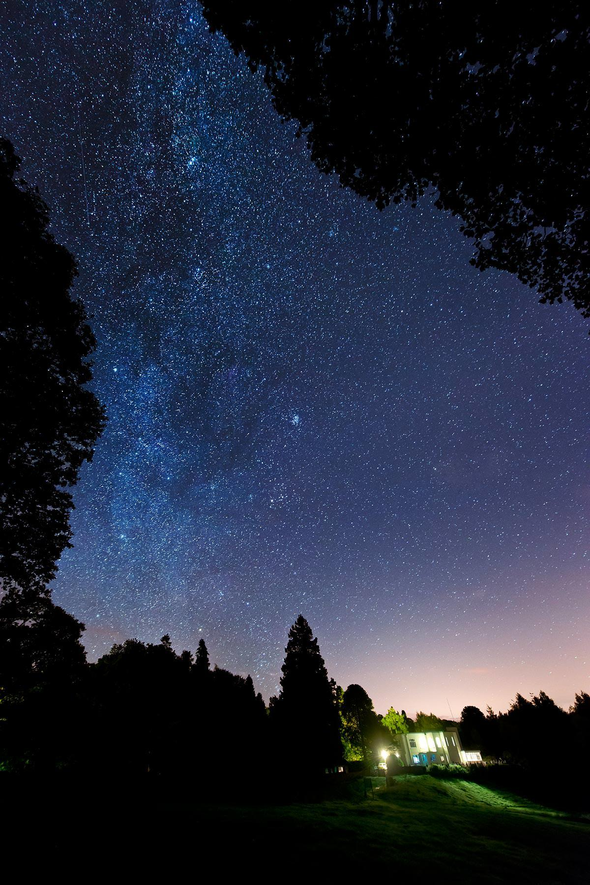 Milky way at Windermere