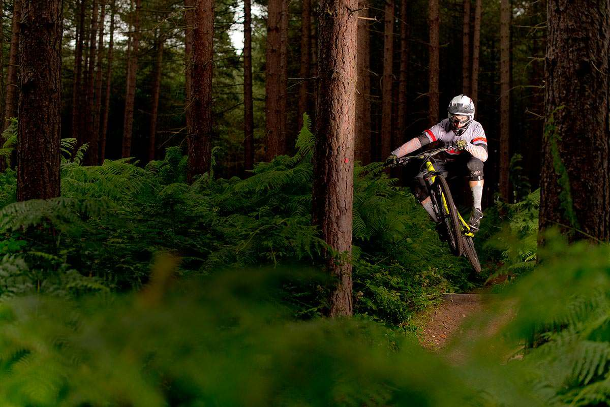Commercial Photography Nottingham Sherwood Forest biking