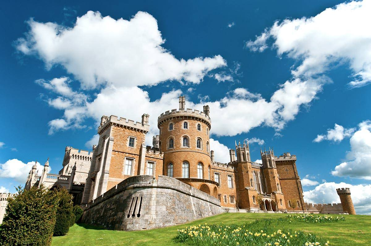 Commercial Photography Nottingham & Derby Belvoir Castle external